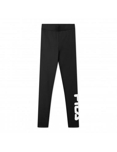 681826 LEGGINGS donna FILA women flex legging pantalone slim nero black