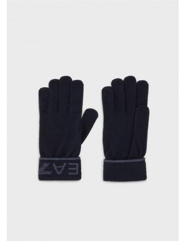 Guanti EA7 Emporio Armani 275895 9A301 nero guanto gloves accessori uomo MAN