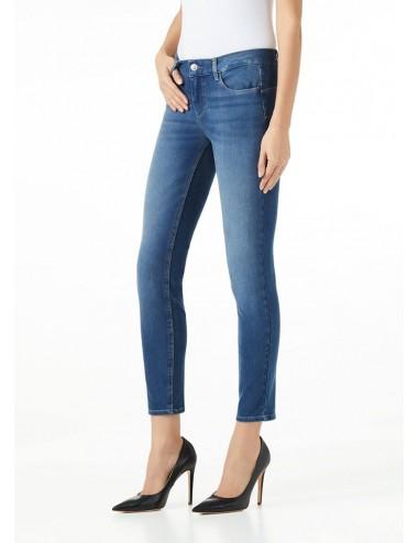 UA0013 D4471 JEANS LIU JO donna denim pantalone pantaloni skinny stretch woman