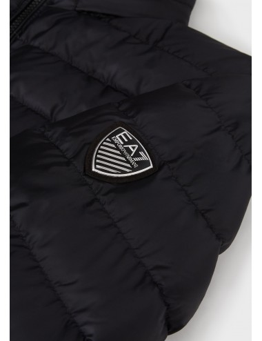 6HPB14 1200 PIUMINO nero EA7 Emporio Armani uomo giubbotto giubbino giacca man