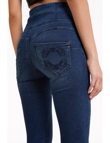 CJ0367 A1HIB JEANS Patrizia Pepe trousers pantaloni skinny pantalone jegging