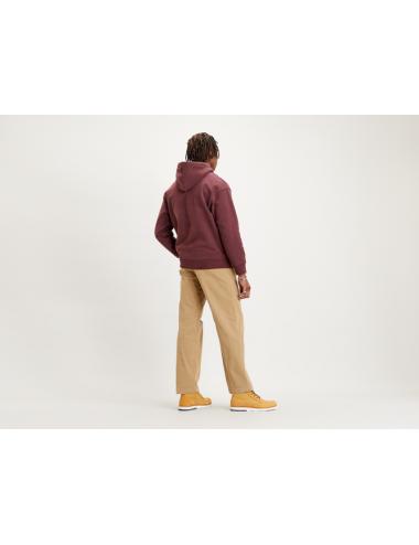 38479 FELPA uomo con cappuccio LEVIS maglia man felpe relaxed grapich
