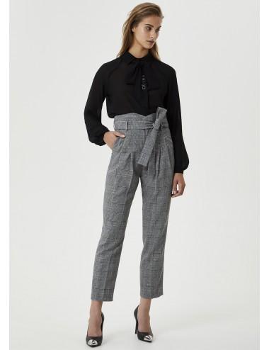 WF0044 PANTALONI Pantalone elegante con fiocco LIU JO DONNA PANTS