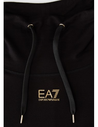 6HTM35 FELPA maglia collo ampio EA7 EMPORIO ARMANI DONNA shirt maglietta woman