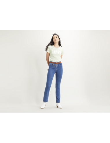18759 0035 JEANS donna LEVIS levi's 725 HIGH WAISTED BOOTCUT pantalone pantaloni