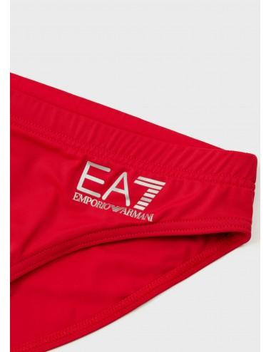 901005 CC704 rosso RED Costume da bagno EA7 Emporio Armani slip mutanda mutande