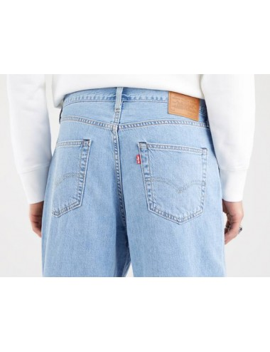 39957 0006 JEANS LEVIS UOMO STAY LOOSE PLEATED CROP PANTALONE DENIM PANTALONI