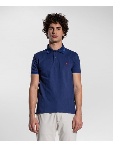 MEDINILLA STR 254 PEUTEREY POLO MANICA CORTA STRETCH MAGLIA T SHIRT BLU china