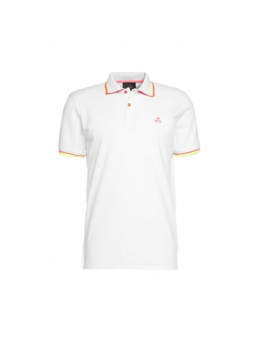 NEW SELANDINA STR BIAOF PEUTEREY POLO PIQUET FLUORESCENTI MAGLIA SHIRT MAN